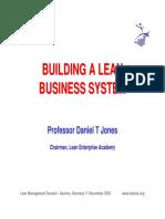 Building a Lean System