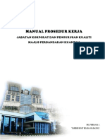 Manual Prosedur Kerja