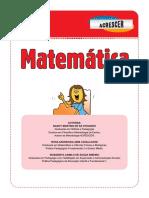 Matemática 4° ano - 1° trimestre