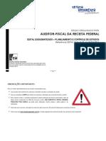 Estudo Organizado Para Auditor Receita Federal (Cronograma)