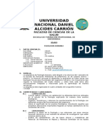 Silabo Fisiología i Actual 2014