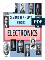 Chapter 21 Electronics