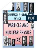 Chapter 26 Particle and Nuclear Physics (A2)