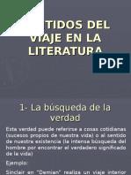Sentido del viaje en a literatura