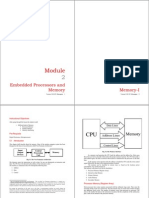 Embedded Systems Memory-1