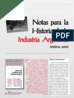 Notas Para La Historia de La Industria Argentina Parte7