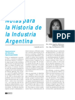 Notas Para La Historia de La Industria Argentina Parte2