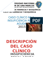 Caso clínico de insuficiencia renal