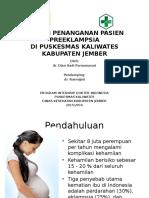 mini project preeklampsia