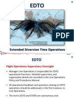 Extended Diversion Times Operation
