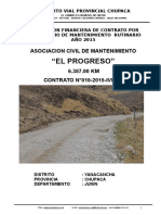 Liquidacion Progreso - Acocancha
