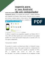 Use Mobogenie Para Gerenciar Seu Android Através de Um Computador