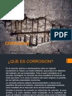 Corrosion - Tecnologia  Concreto II