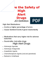 Safety of High Alert Medication (1)