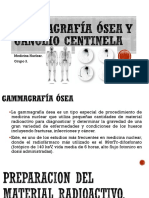 Gammagrafía Ósea y Ganglio Centinela