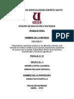 Paper Final - Calculo 1 - Grupo 4