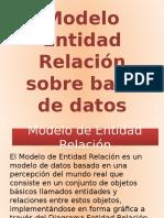 Modelo Entidad - Relacion de Base de Datos