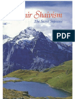 Kashmir Shaivism the Secret Supreme
