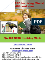 CJA 484 NERD Inspiring Minds - Cja484nerd.com