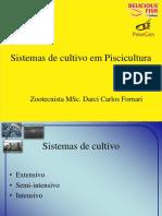 Sistemas de Cultivo Em Piscicultura