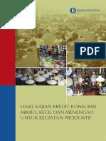 Buku Kajian Kredit Konsumsi UMKM