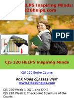 CJS 220 HELPS Inspiring Minds - Cjs220helps.com
