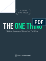 CWT the One Thing 1st Edition