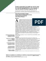Estudo comparativo de ACV concreto Portland e Geopolímero