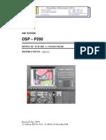 OKUMA-OSP-P200 Sistem de Evitare a Coliziunilor(CAS) (Rev II)
