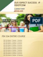 FIN 534 GENIUS Expect Success Fin534geniusdotcom