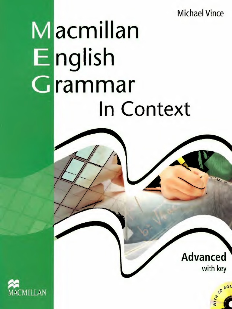 Macmillan English Grammar In Context Advanced With Key Pdf