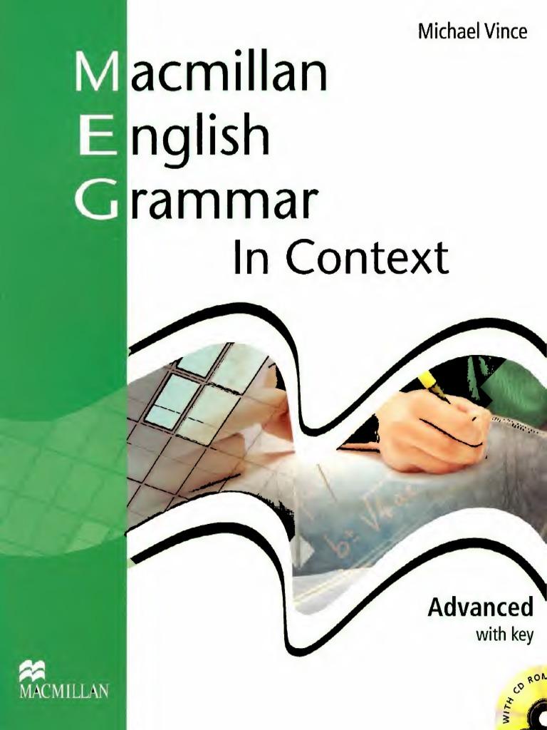 Macmillan English Grammar In Context Advanced With Key Pdf
