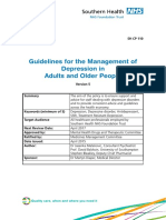 SHFT Prescribing Guidelines Depression V5 - March 2016
