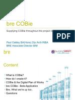 Cobie Presentation at Bim Show Live 2014