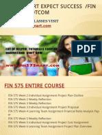 FIN 575 MART Expect Success Fin575martdotcom