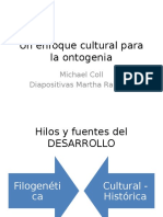 Un Enfoque Cultural Para La Ontogenia