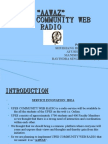 Upes Community Web Radio