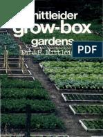 10 Mittleider Grow BOX Gardens