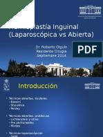 Presentacion Hds Ror 14 Cx Da Hernia Lpx vs Abierta