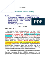 Manila Prince Hotel vs. Gsis