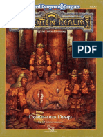 AD&D Forgotten Realms - Dwarves Deep