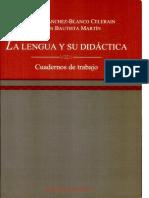 Cuaderno de Trabajo La Lengua y Su Didactica(122)