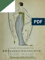 (1918) Bekleidungskunst und Mode