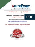 Pass4sure CAS-002 Online Study