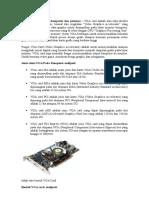 Pengertian VGA Card Komputer Dan Jenisnya