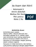 Anhidrida Asam Dan Nitril