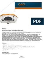 Baru Dijual GPS Geodetik GEOFENNEL Made In Germany FGS-1 || 081220316619