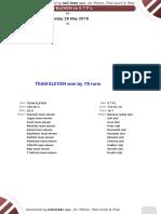 Season 3 - Match 22 - Team Eleven x Stpl