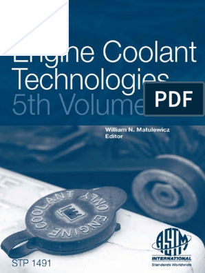 STP-1491-Engine-Coolant-Technologies pdf | Diesel Engine | Turbocharger