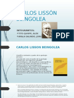 Carlos Lissón Beingolea